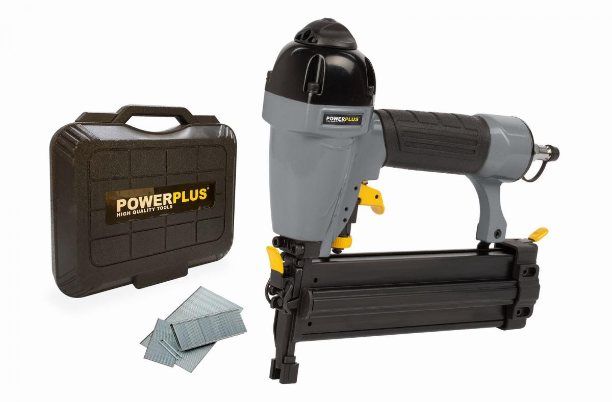 PowerPlus POWAIR0312 Pneumatická hřebíkovačka/sponkovačka
