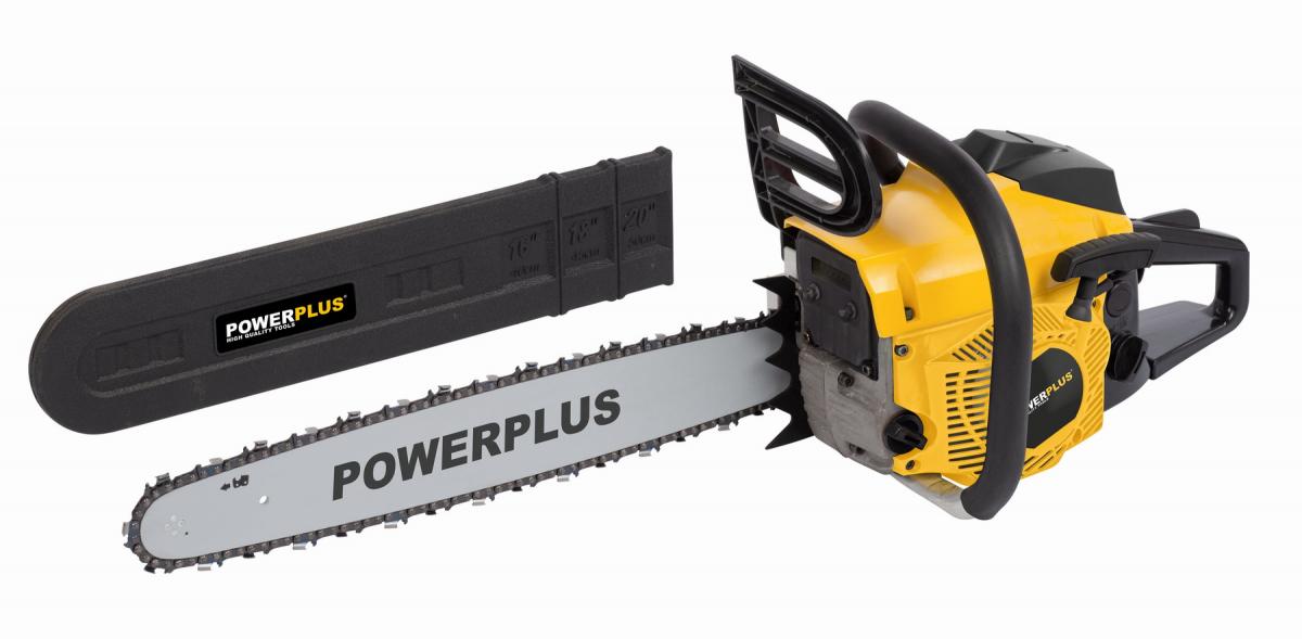 PowerPlus POWXG10231 Benzinová řetězová pila 2 kW, 500mm