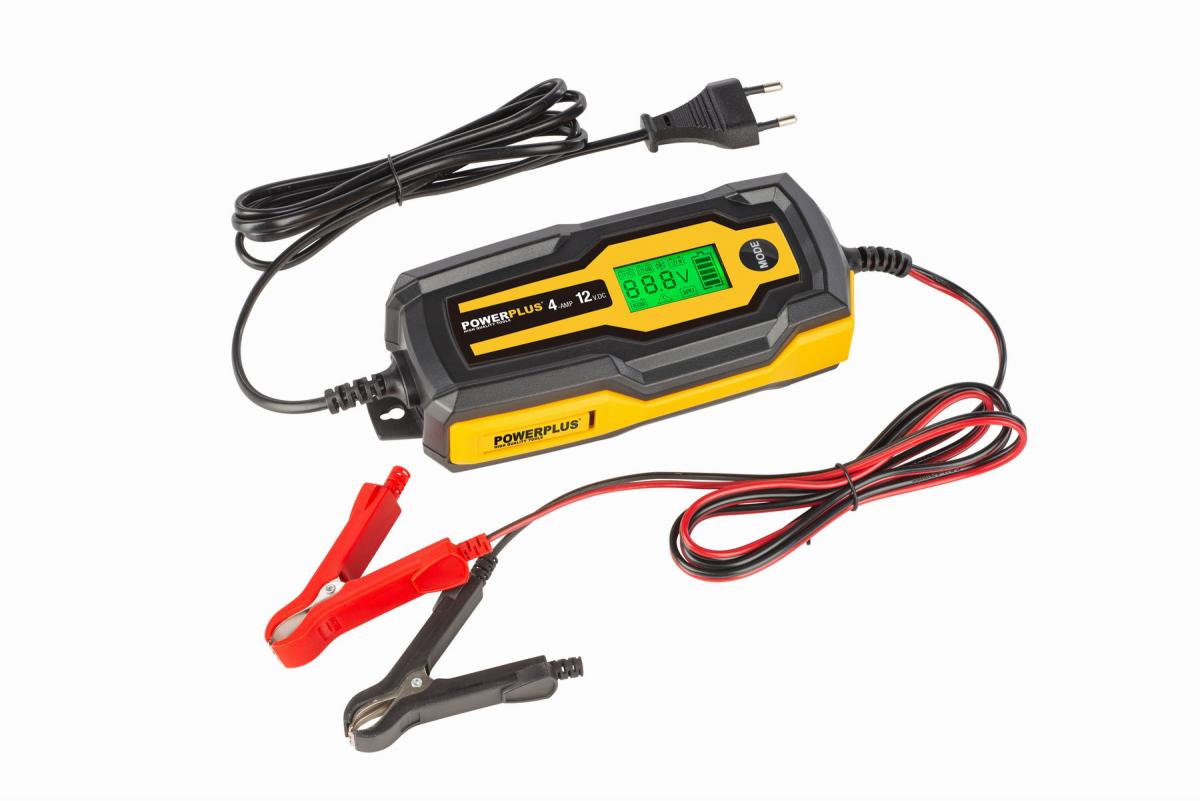 POWX4203 - Automatická nabíječka baterií 70W / 4A / 120Ah