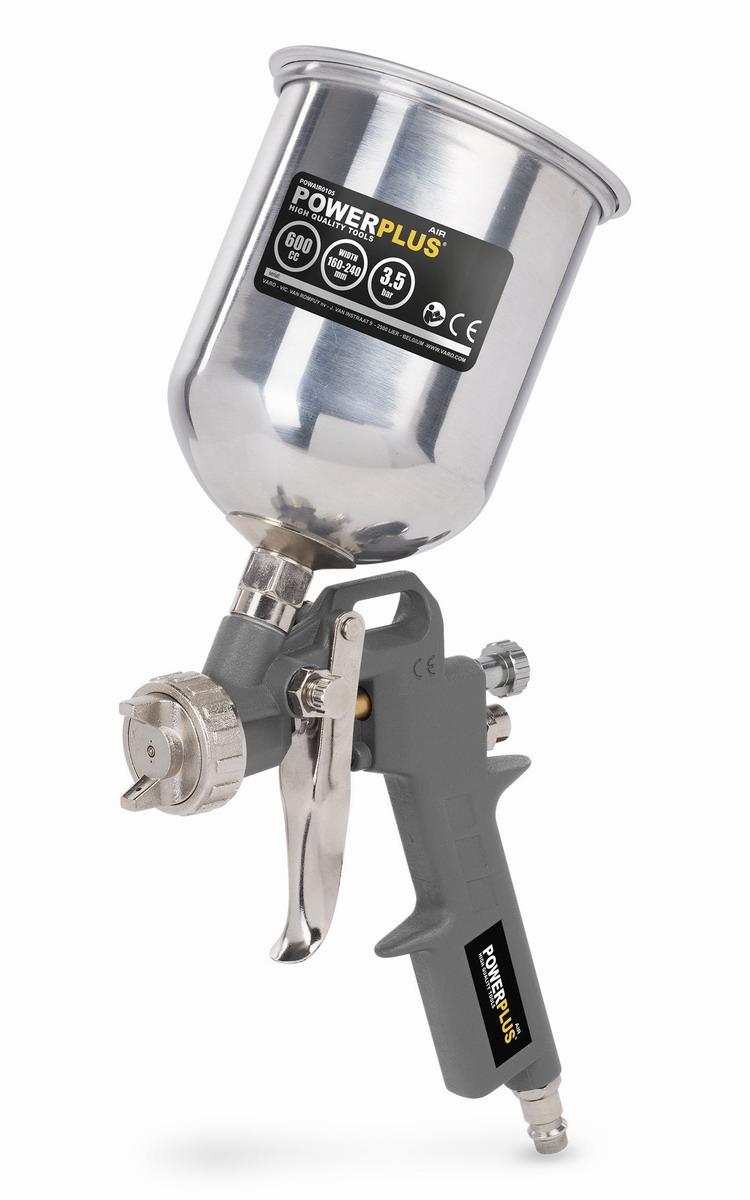 PowerPlus POWAIR0105 Stříkací pistole s horní nádobou