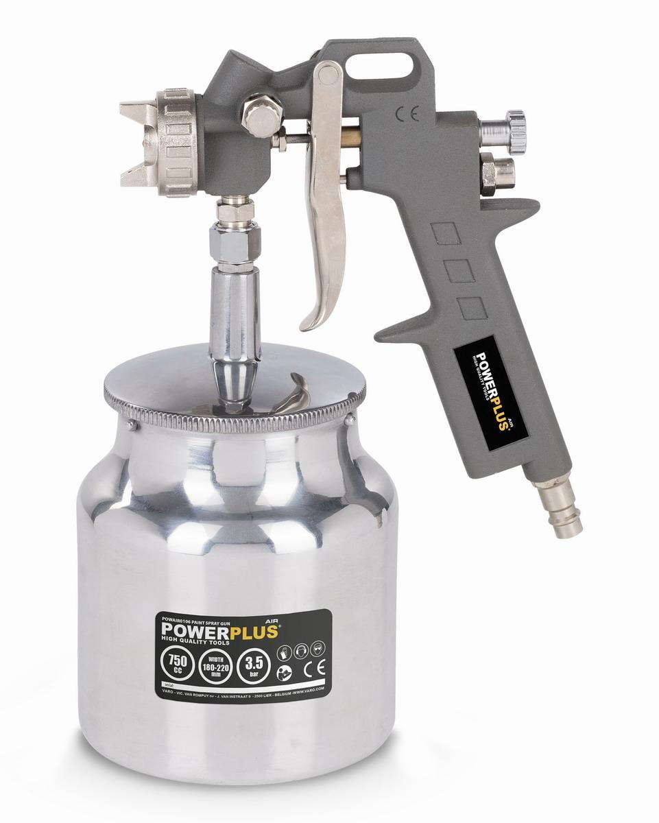 PowerPlus POWAIR0106 Stříkací pistole se spodní nádobou